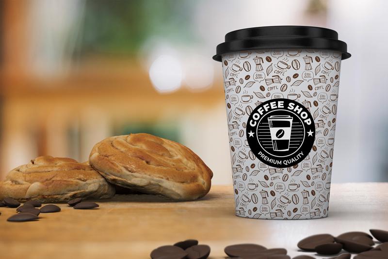 coffee cup sleeves, custom coffee sleeves, personalized coffee sleeves, custom printed coffee sleeves